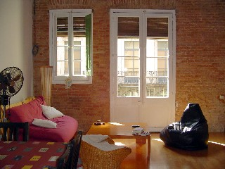 Bed and Breakfast Barcelona Nisia. Salon